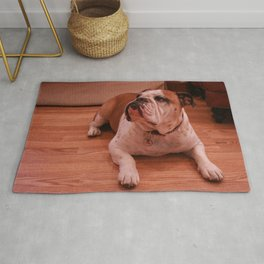 Dog by Dominique Troy Rug