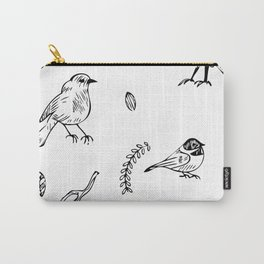 Birds and junk Carry-All Pouch