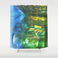 monet Shower Curtains featuring Monet Like by Cindi Ressler Photography