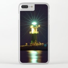 BALTIC LIGHTHOUSE Clear iPhone Case