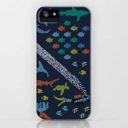 Scuba diving – Knitted ecosystem iPhone Case