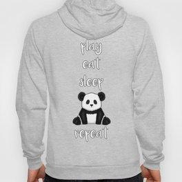 Fluffy Panda Hoody