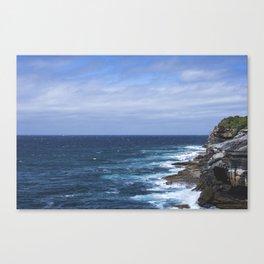 Bondi Cliffs Canvas Print