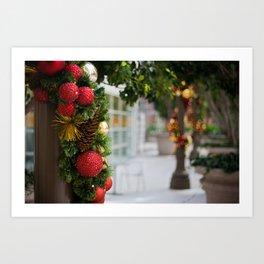 Holiday Simplicity Art Print