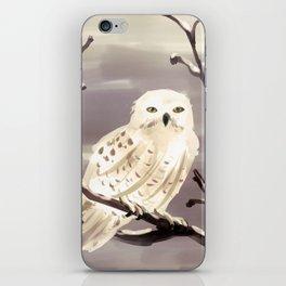Snowy Owl iPhone Skin