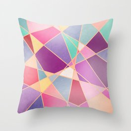 STAINED GLASS WINDOW Throw Pillow