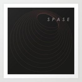 SPASE Red Cycles Art Print