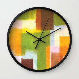Color Block Series: Country Wall Clock