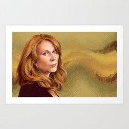 Catherine Tate Art Print