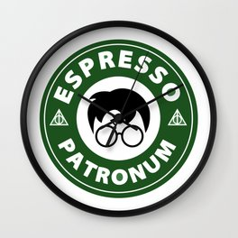 Espresso Patronum starbucks Wall Clock