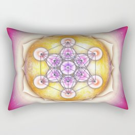 Metatron's Cube - Sun I Rectangular Pillow
