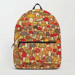 Mouse among mushrooms Backpack