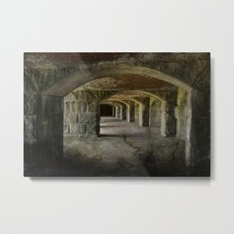 The Tunnels Metal Print