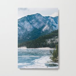 Barrier Lake Metal Print