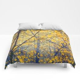 trees IX Comforters