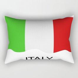 Italy flag Rectangular Pillow