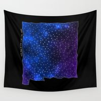 sagan Wall Tapestries featuring New Mexico StarStuff by Yespo Designs