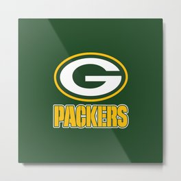 G packers Metal Print