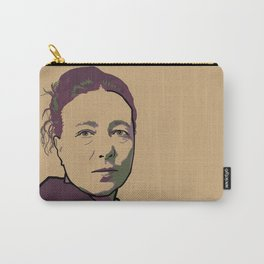 Simone de Beauvoir Carry-All Pouch