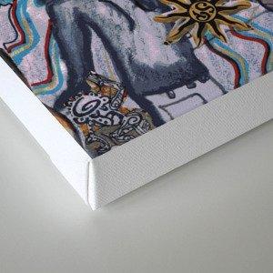 Modern Shiva Canvas Print