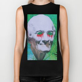 I open my eyes and all I see is darkness / VAPORWAVE Biker Tank