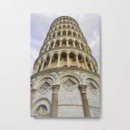Pisa leaning tower Metal Print