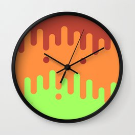 Trippy Drippy 4 Wall Clock