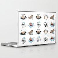 twin peaks Laptop & iPad Skins featuring // twin peaks // by // PIGEON //