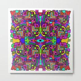 Mad Mosaic Metal Print