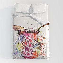 Butterfly Splash Comforters