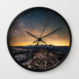 Matthes Crest Night Wall Clock