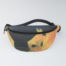 Mobile Internet Drawing Fanny Pack