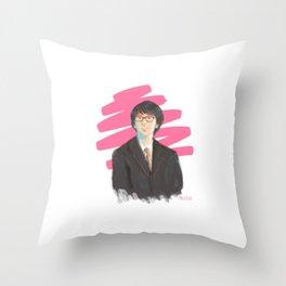 Harry in Suit Throw Pillow