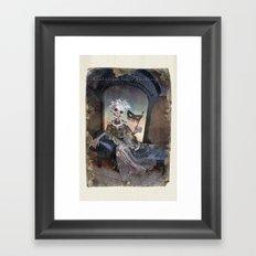 Rucus Studio Catrina In Waiting Framed Art Print