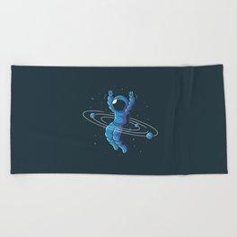 Space Hula Hoop Beach Towel
