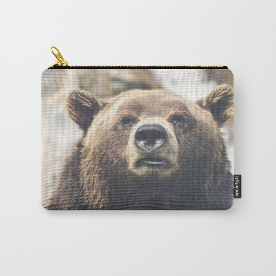 Animal bear Carry-All Pouch