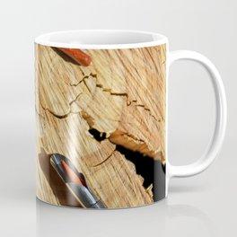 corkscrew with wine corks Coffee Mug