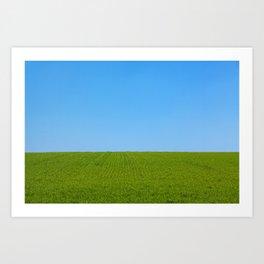 The Endless Field Art Print