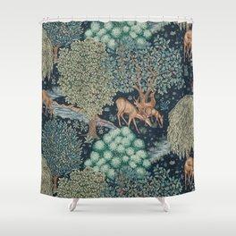 William Morris The Brook Shower Curtain