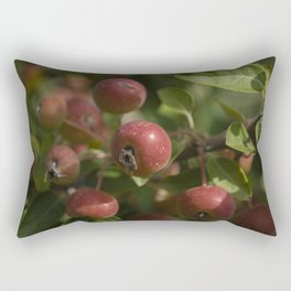 Red drupes Rectangular Pillow