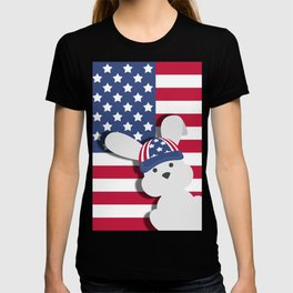 INDEPENDENCE DAY BUNNY T-shirt