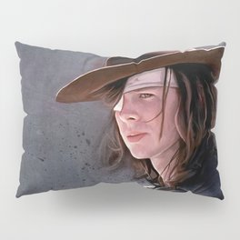 Carl Grimes Before The Fall - The Walking Dead Pillow Sham
