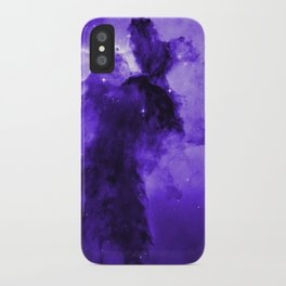 Eagle Nebula Ultraviolet iPhone Case