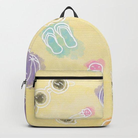 Summer in watercolors Backpack
