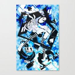 BUNNYGIRL UNDER GROUND Canvas Print