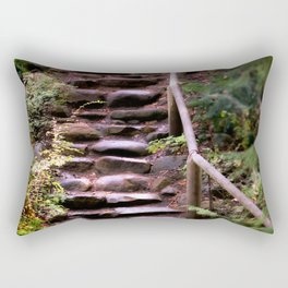 Old Wet Stone Steps Rectangular Pillow