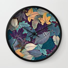 Leafy Goodness Wall Clock