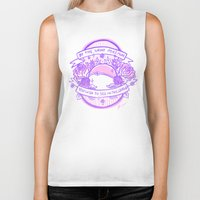 kendrawcandraw Biker Tanks featuring Be the Shiny by kendrawcandraw