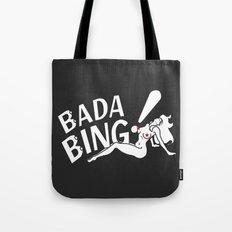 Neon Bada Bing! Tote Bag