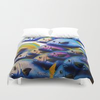 school Duvet Covers featuring school by Bocese